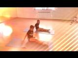 Лиза Василиса. Балетная гимнастика, завершающий этап урока.