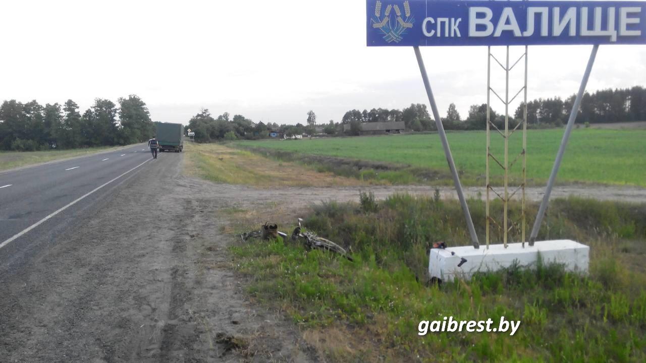 Велосипедист погиб в ДТП на следующий день после дня рождения