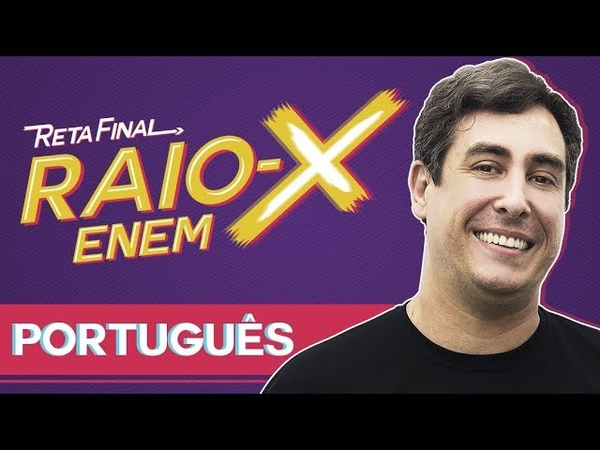 Raio X Enem Os temas mais cobrados de Língua Portuguesa   Prof. JJ