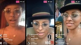 Actress Kat Graham Goes Live! With Fans On IG! (71318)