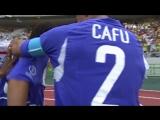 Гол Роналдиньо в ворота сборной Англии