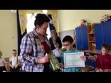 О занятии и поощрении участников конкурса-теста - воспитанников школы-интерната №2
