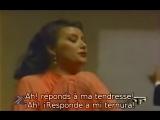 Elena Obraztsova - Mon coeur souvre a ta voix de Samson et Dalila de Saint-Saens (subt