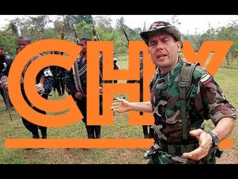 Right-wing paramilitary leader Carlos Castaño, founder of the AUC. English Subtitles.