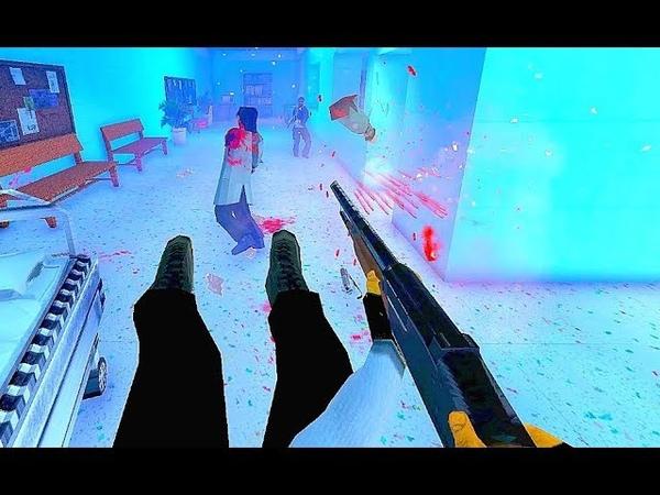 Badass John Wick Simulator Game 'Maximum Action' Brutal FPS Gameplay