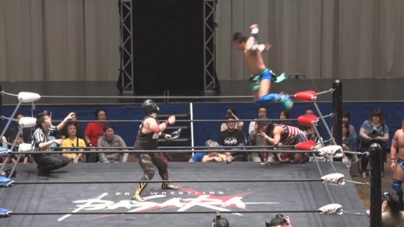 Takumi Tsukamoto, Yasu Urano, Daichi Kazato, Ryu Goma vs. Trans-Am - Ryuichi, Tanaka, Shinya, Yusuke Kubo (BASARA - Vajra 66 ~ C