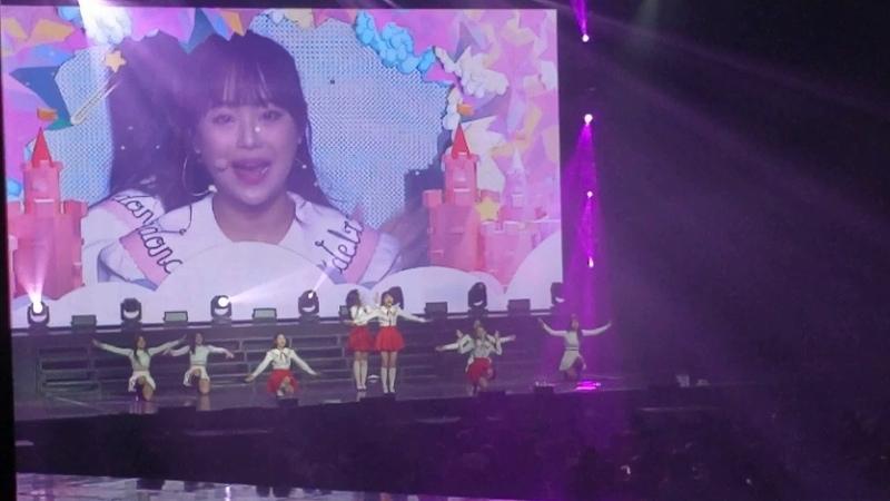 190217 LoonaVERSE YYXHaseul (Chuu, Gowon, Olivia Hye, Haseul) - 지금, 좋아해 (Love Live)