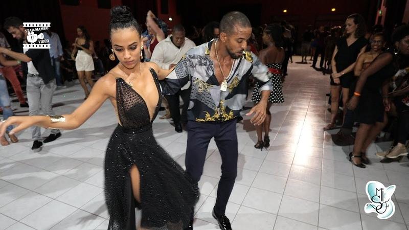 Maykel fonts Sylvia Chapelli - salsa social dancing @ Martinique Int Salsa Festival 2018