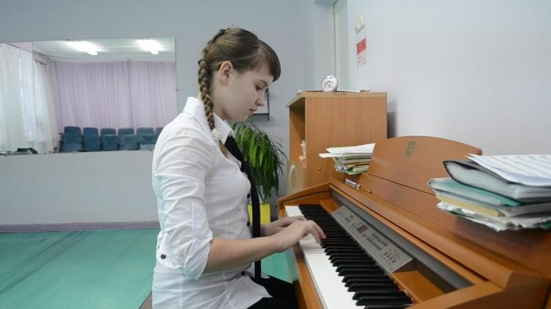 Состязание клавиристов 2014 г. Куперен Ф. Вязальщицы (Малышева)