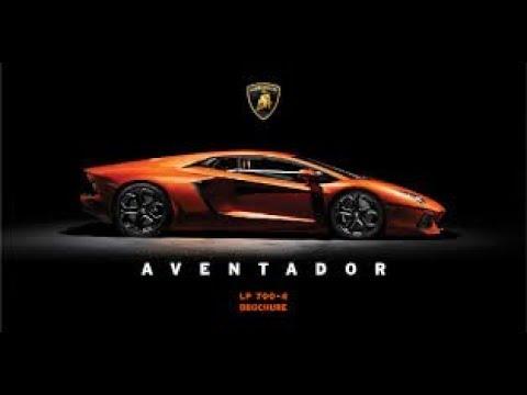 Official new video song of 2018 Lamborghini Aventador S
