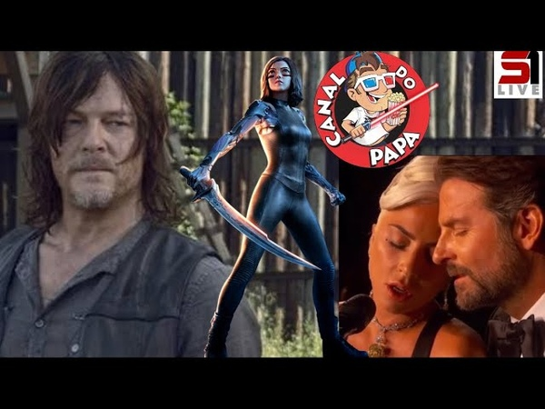 Noite de Oscar emocionante Critica de Alita Anjo de Combate Tudo sobre The Walking Dead S09E11