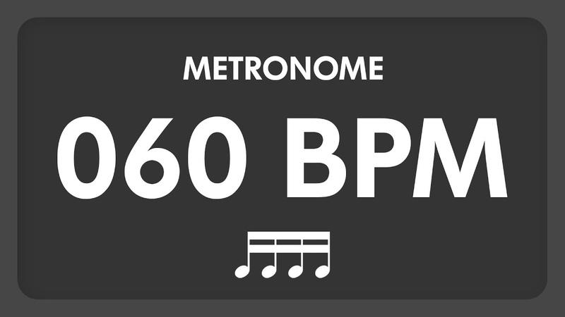 60 BPM - Metronome - 16th Notes