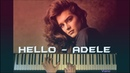 ADELE HELLO BEST piano Cover Free Sheets