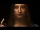 Видеоролик Christies с портретами зрителей перед картиной Леонардо да Винчи «Спаситель мира»