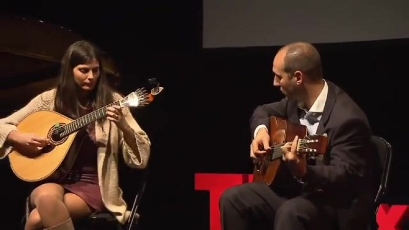 Performance Marta Pereira da Costa at TEDxBoavista