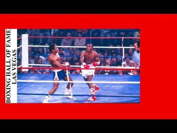 Sugar Ray Leonard TKO Wilfred Benitez November 30, 1979 Welterweight Title