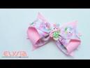 Laço Annisa Grosgrain Ribbon 38 mm 🎀 DIY by Elysia Handmade