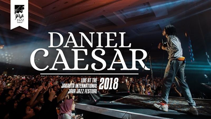 Daniel Caesar Get You Live at Java Jazz Festival 2018