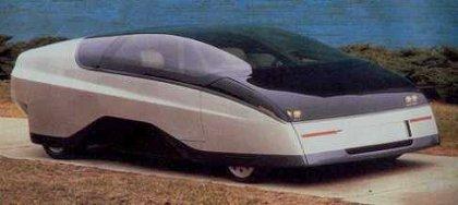 Вехи истории: 1987 Chevrolet Express Автомобиль был создан специалистами фирмы Chevrolet в 1987-м году. Специфической фишкой машины, помимо дизайна кузова, стал газотурбинный двигатель,