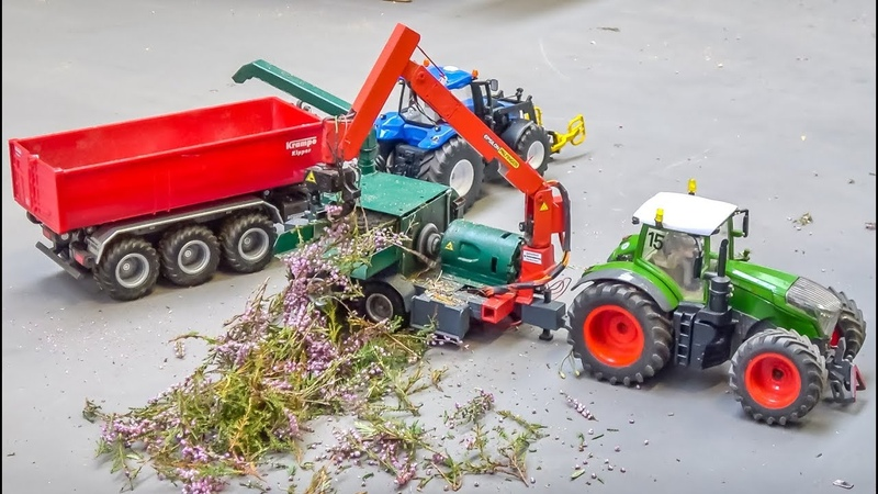 R/C tractors and trucks! AWESOME machines!