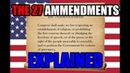 Video English watching usa constitution amendment politics international_relations The US Constitutional Amendments Explained