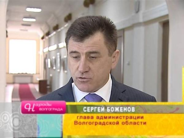 Гейдар Алиев в Волгограде 1987 г.