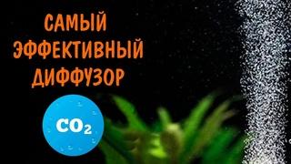 САМЫЙ ПРОСТОЙ И ЭФФЕКТИВНЫЙ ДИФФУЗОР СО2. THE EASIEST AND MOST EFFICIENT CO2 DIFFUSER