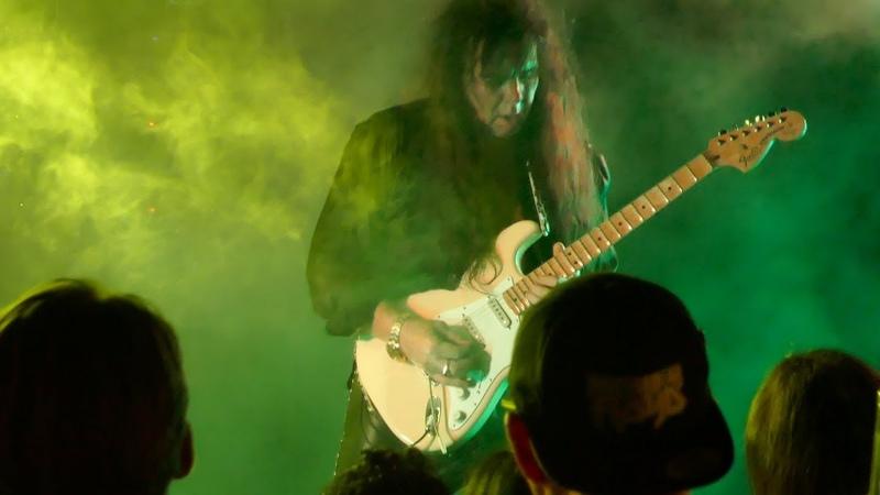 YNGWIE J. MALMSTEEN Trilogy Suite Op 5 Guitar solo Live 1080P @ Proof Rooftop Lounge Houston