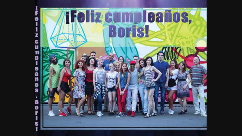 Feliz cumpleaños ,Boris!