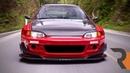 The Battle-Ready Pandem Widebody Honda Civic Hatch | Chasing Red Mist