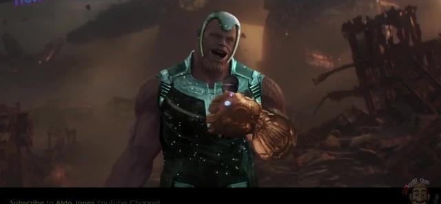Singing Thanos / Поющий Танос (ОРУ!) [Orig. by Aldo Jones]