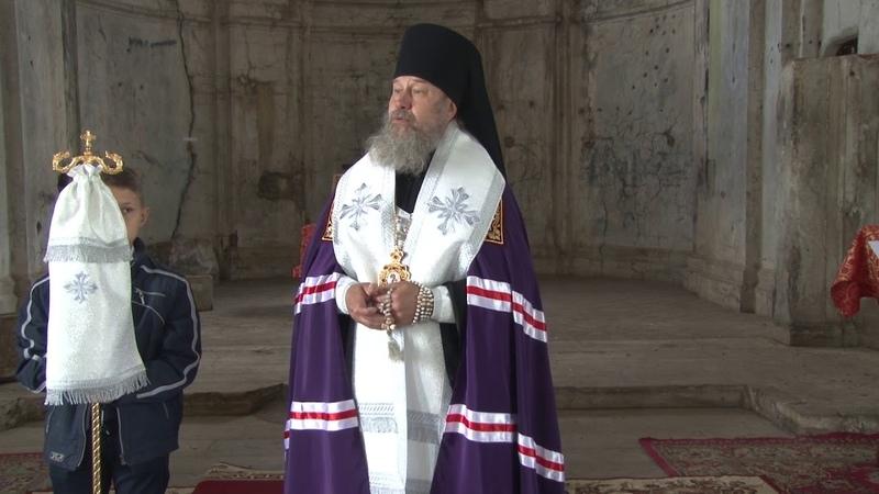 Слово епископа Максима в храме великомученика Димитрия Солунского