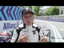 Emerson Fittipaldi Drives Formula E Car In Zurich!