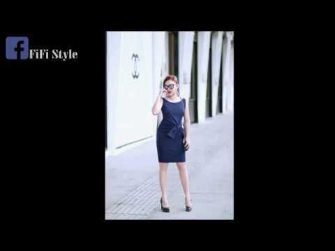 FiFi Style: 2D Draping - Twist Front Dress (Hướng dẫn rập 2D, đầm xoắn nơ eo)