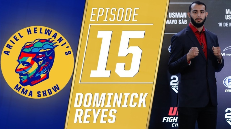 Dominick Reyes excited to fight on UFC 229 Ariel Helwani's MMA Show ESPN