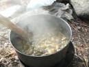 клуб путешественников Белая Звезда поход Мульта-Ак-кем готовим грибы