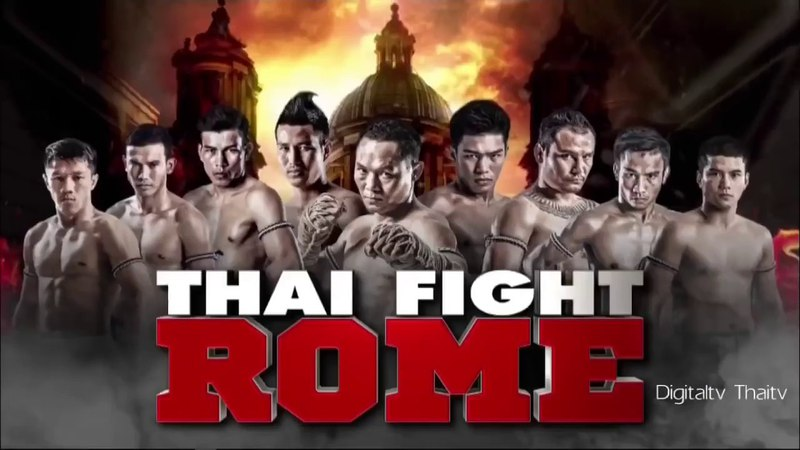 Thai Fight в Риме, 21.04.18, все бои.