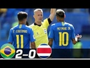 Brazil vs Costa Rica 2-0 World Cup 2018 Highlights - 22 June