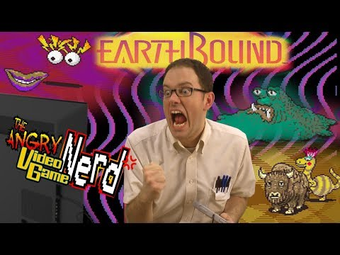 Earthbound (SNES) Angry Video Game Nerd Episode 156