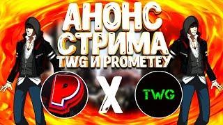 АНОНС СОВМЕСТНОГО СТРИМА | TOTAL WE GAMES X PROMETEY