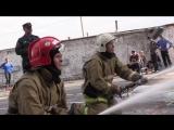 Начальник курганского чрезвычайного ведомства дал старт соревнованиям по боевому развертыванию