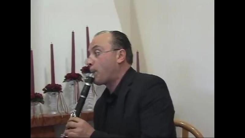 Asturias (I.Albeniz). Clarinet Prof.Massimiliano Montanaro