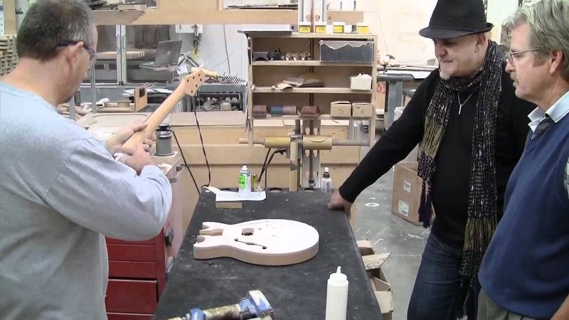 Frank Gambale - Carvin Guitars signature FG1 Guitar - How its Made