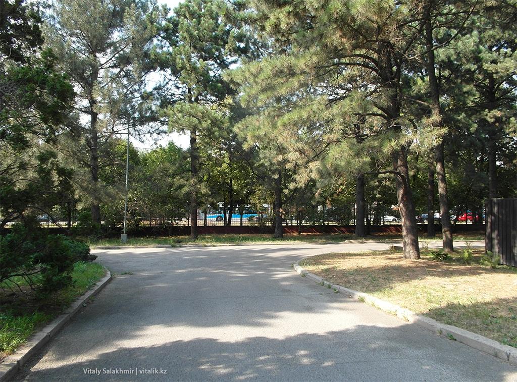 Улица Тимирязева, Ботанический сад Алматы