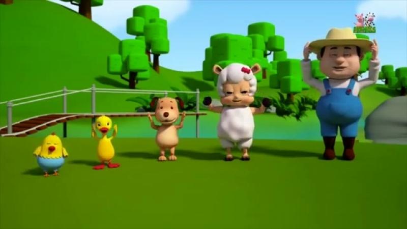 Rig a Jig Jig - Farmees - Nursery Rhymes Collection - Baby Songs - 3d Rhymes - Kids Videos-[save4.net]