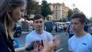 Веган против Мясоеда 2 Cube of Truth Kiev