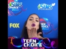 Look who arrived in style on the pink carpet TeenChoice @emeraude
