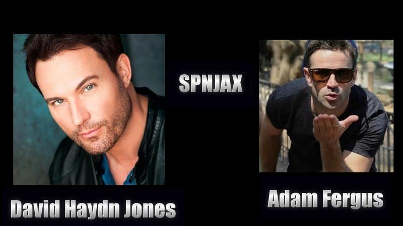David Haydn Jones Adam Fergus - SPNJAX 2018 Supernatural Panel
