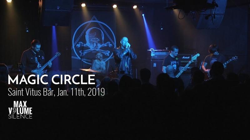 MAGIC CIRCLE live at Saint Vitus Bar, Jan. 11th, 2019 (FULL SET)