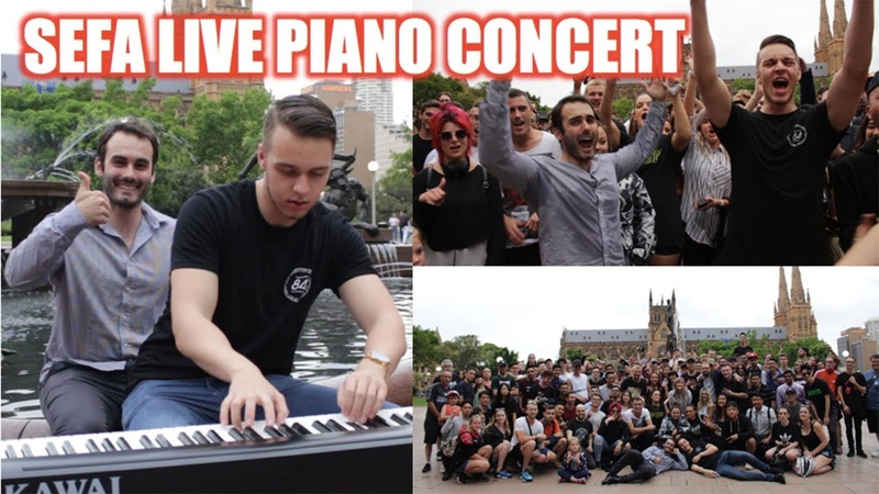 Sefa Live Piano Concert Fan Meet-Up | 1v1 Hakk Battle vs Slendy!